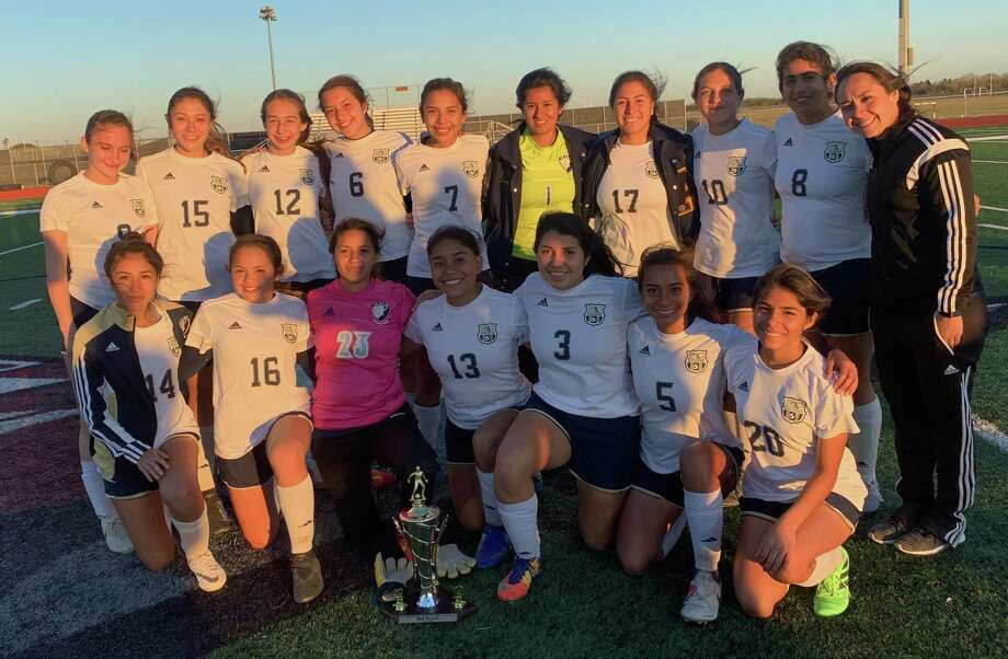 The Alexander girls' soccer team picked up a second-place finish at the Lady Chiefs Tournament on Saturday in Donna. The Lady Bulldogs won their first five games at the event before falling in the championship to Harlingen South. Photo: Courtesy Of Alexander Athletics