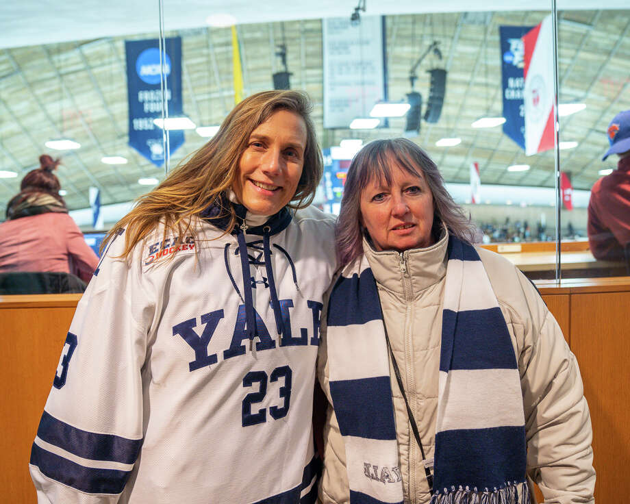 SEEN: Yale Bulldogs v. St. Lawrence Saints 2019 Caption: The Yale University Bulldogs faced off against the St. Lawrence Saints on Saturday, Jan. 19, 2019 at David S. Ingalls Rink in New Haven, Conn. Were you SEEN? Photo: Kaylah Gore