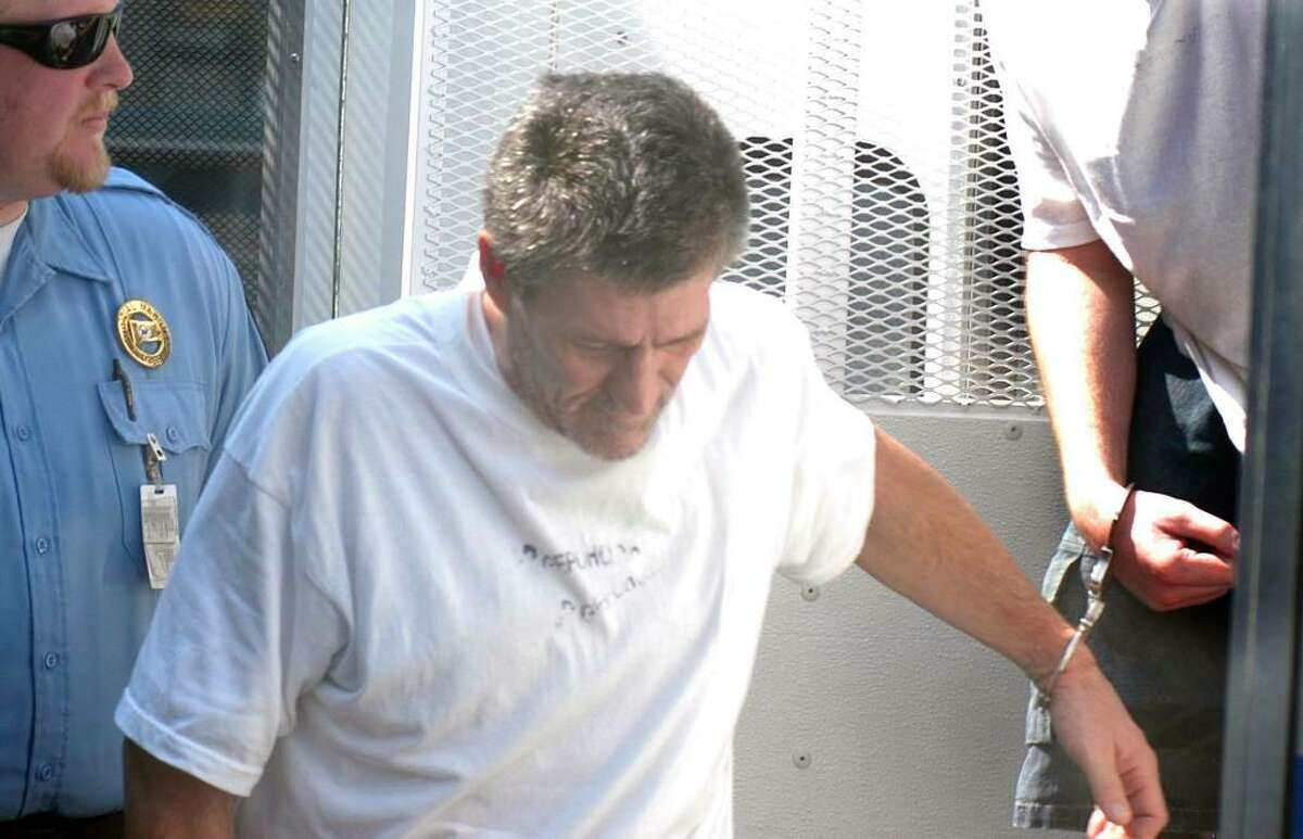 James O'Neill, the Bethel man accused in the hit-and-run death of Danbury police officer Donald Hassiak, did not enter a plea in his arraignment at the state Superior Court in Bantam Wednesday, July 21, 2010.