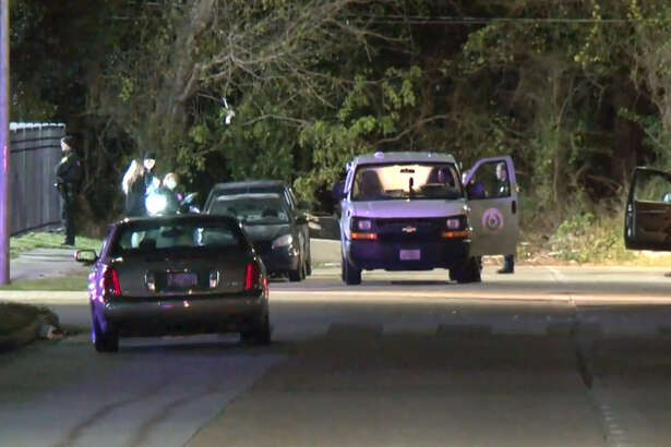 One man is dead and another is in the hospital after being shot in a disturbance about 8:30 p.m. Saturday in northeast Houston.