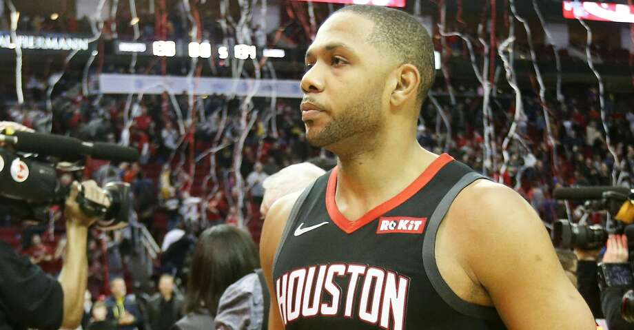 PHOTOS: Rockets game-by-game Houston Rockets guard Eric Gordon (10) leaves the court after the Rockets defeated the Los Angeles Lakers in overtime 138-134. Gordon ended the game with 30 points including a last-second three pointer that sent the game into overtime. Browse through the photos to see how the Rockets have fared in each game this season. Photo: Elizabeth Conley/Staff Photographer