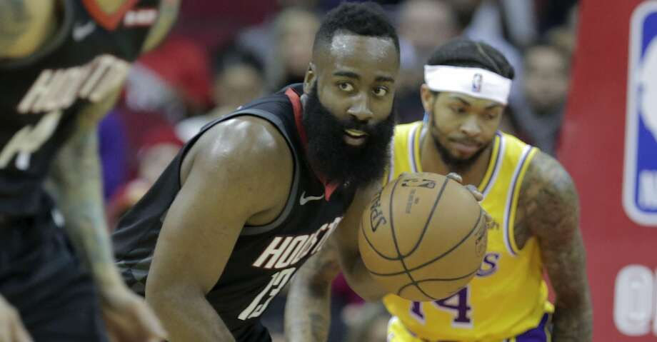 PHOTOS: Rockets game-by-game Houston Rockets guard James Harden (13) steals the ball from Los Angeles Lakers forward Brandon Ingram (14) in the first quarter at the Toyota Center on Saturday, Jan. 19, 2019 in Houston. Browse through the photos to see how the Rockets have fared in each game this season. Photo: Elizabeth Conley/Staff Photographer