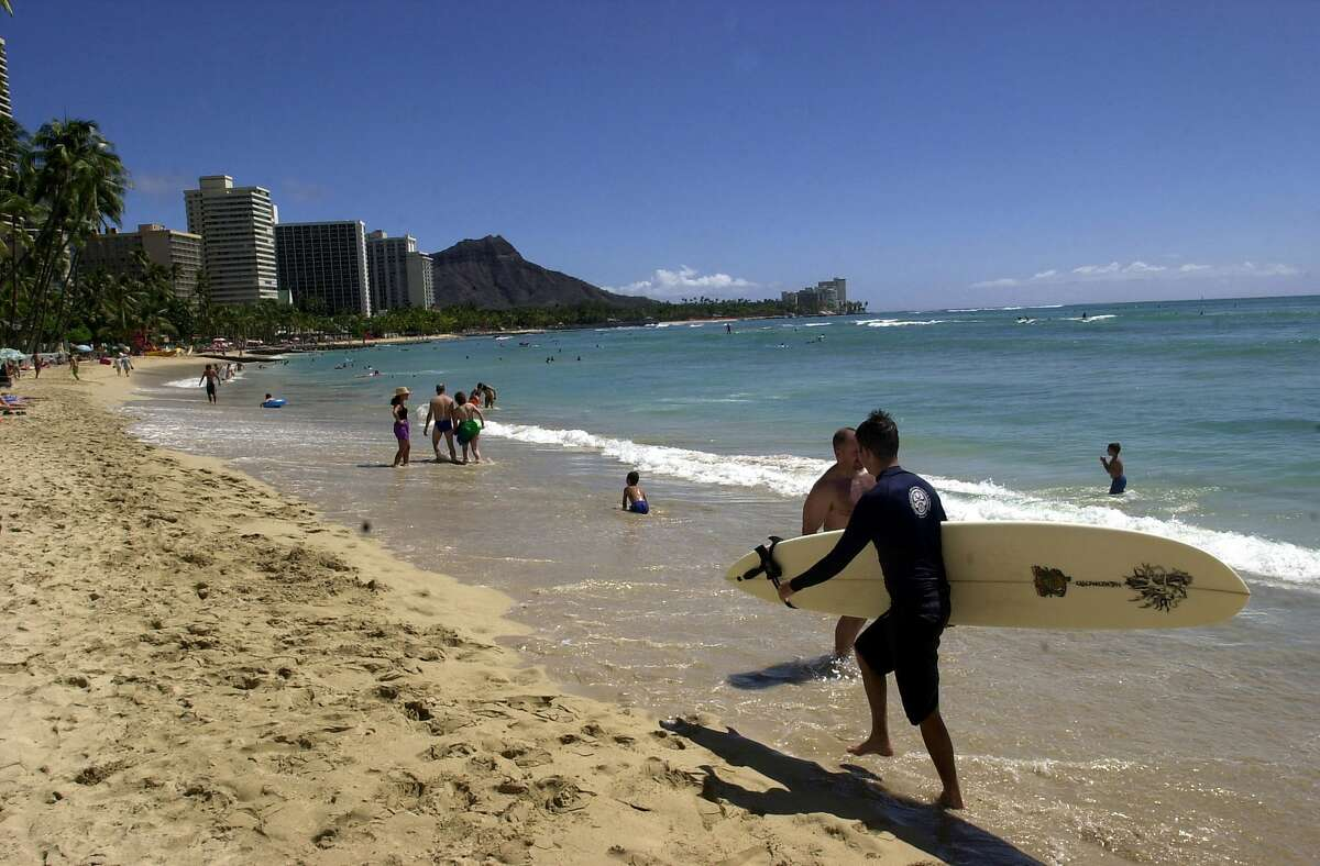 WAIKIKI BEACH With sea level rise of more than a half foot over the last few decades, locals are taking proactive measures to prevent ongoing widespread flooding in the area near Hawaii's famous tourist magnet.
