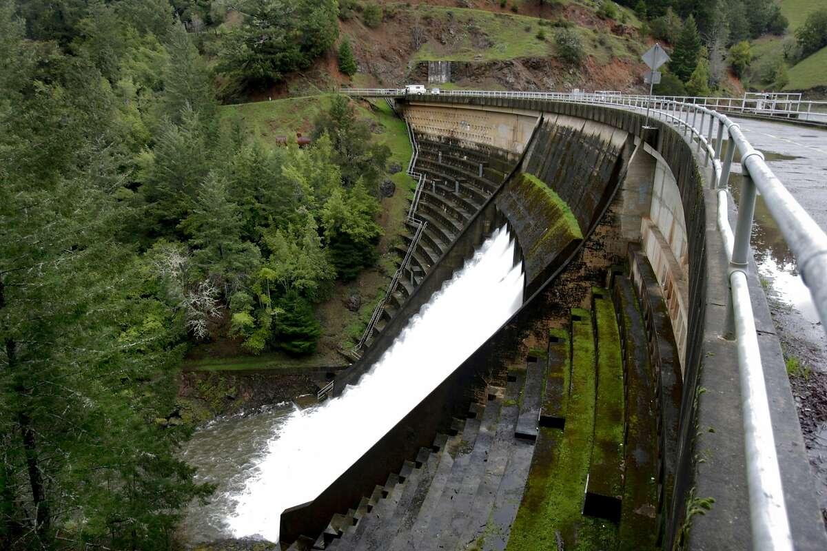 Alpine dam in Marin