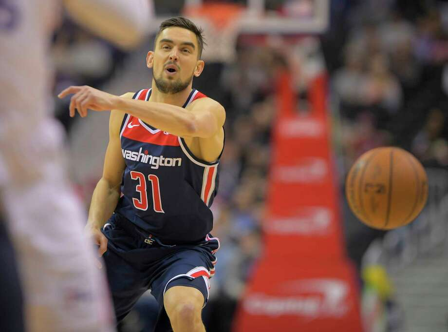 Washington guard Tomas Satoransky, shown Jan. 9, says he feels fine after traveling to London to play the Knicks last week. The Wizards likely will need to avoid a post-London slump if they are to make the playoffs. Photo: Washington Post Photo By John McDonnell. / The Washington Post