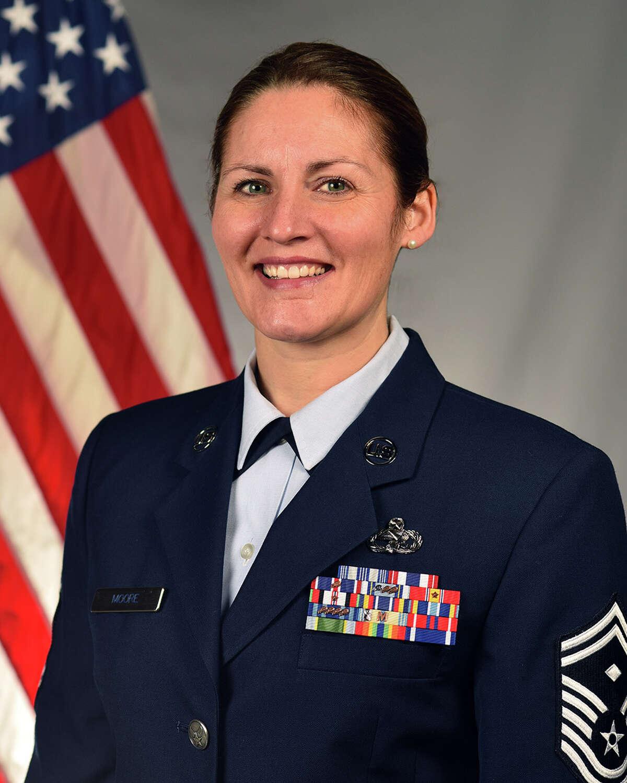 Senior Master Sgt. Amie Moore
