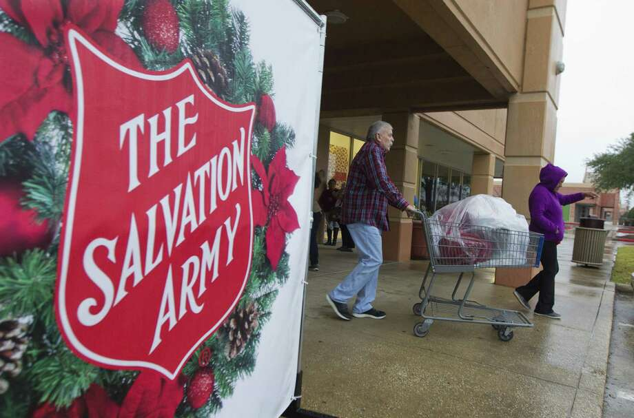 The Salvation Army's annual angel tree gift assistance program provided toys and clothes for 4,500 children and more than 500 senior citizens. Photo: Jason Fochtman, Houston Chronicle / Staff Photographer / © 2018 Houston Chronicle