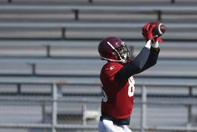 Tight end Robinson working through transition to football with San ...