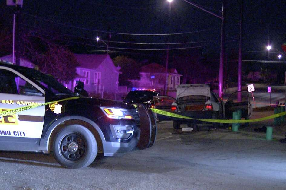 A man was shot in the lower back in an apparent drive-by shooting at North Walters and East Commerce on Monday, Jan. 21, 2019.