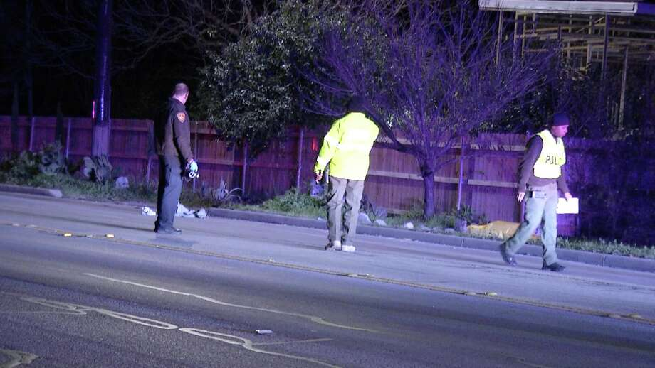 A suspected drunken driver fatally struck a pedestrian at about 10:30 p.m. on Sunday, Jan. 20, 2019, in the 6900 block of Callaghan Road. Photo: Ken Branca