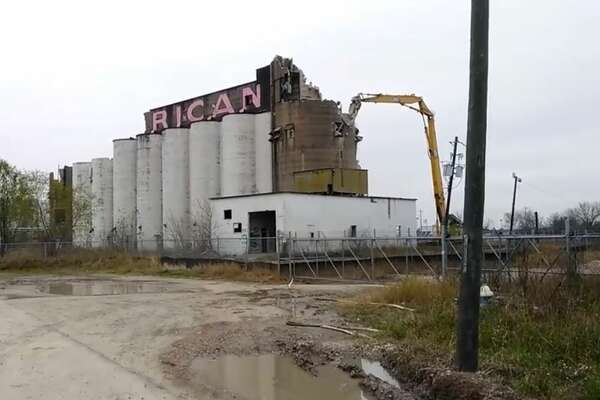 PHOTOS: Historic landmarks Houston has lostPearland's iconic rice silos were demolished last week. The silos had become an eyesore and safety hazard for residents, but some were still sad to see the landmark go.>>See more for landmarks that were demolished in Houston...