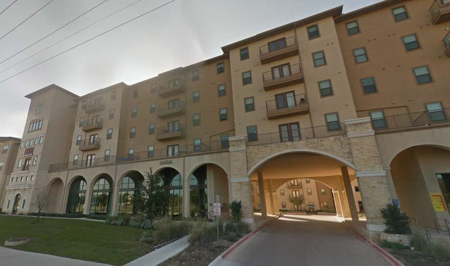 """The three suspects, all of whom were wearing UTSA hoodies, broke into the apartment at the Prado Student Living complex in the 7100 block of UTSA Boulevard at about 5:20 a.m. and """"immediately started shooting through the door of one of the two bedrooms,"""" according to a preliminary police report. Photo: Google Maps"""