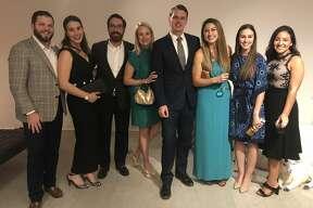 Mansion: Spencer Robnett, from left, Brooke Robnett, Chase Gardaphe, Annabelle Gardaphe, Dana Morris, Stephanie Reynolds, Leslie Halford and Violet Trevino