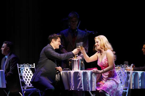 """Scenes from """"Legally Blonde the Musical."""" The show will be at Wagner Noel Performing Arts Center at 7:30 p.m. Wednesday."""