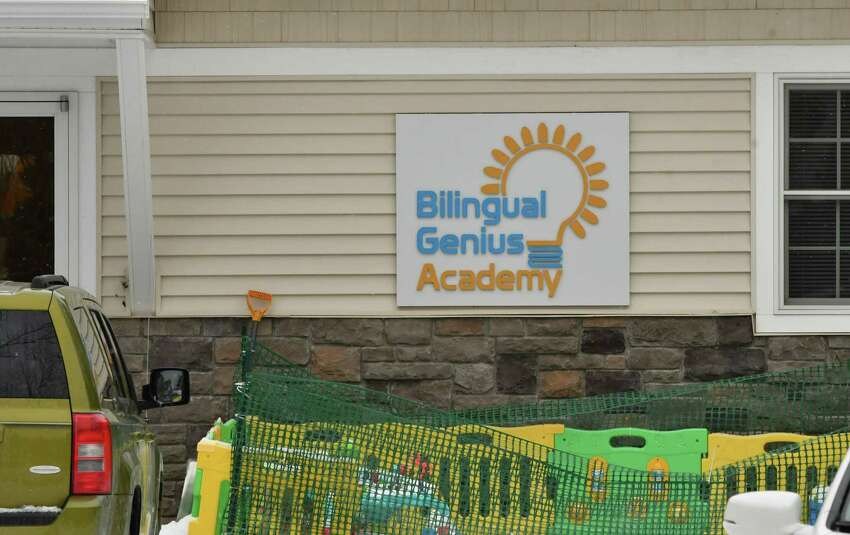 Exterior of Bilingual Genuis Academy on Friday, Jan. 18, 2019 in Clifton Park, N.Y. The daycare center has many violations that parents don't know about and it is still operating. Their state licenses will be revoked soon. (Lori Van Buren/Times Union)