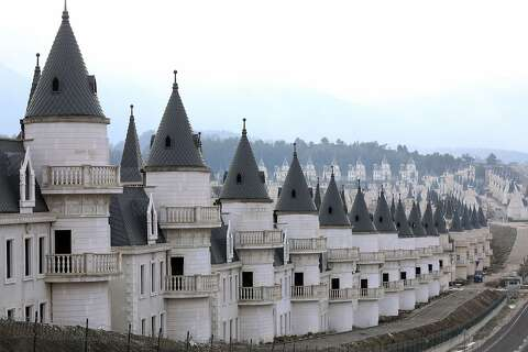 There's a $200 million abandoned village of Disney-like castles in