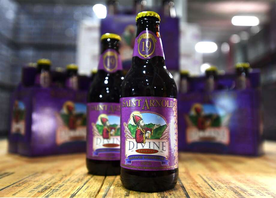 Saint Arnold's Divine Reserve #19 at the Del Papa Distributer Company in Beaumont.   Photo taken Monday, 1/21/19 Photo: Guiseppe Barranco/The Enterprise, Photo Editor / Guiseppe Barranco ©