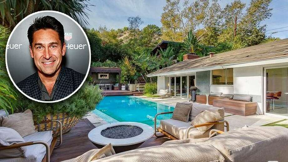 World-renowned landscape designer and HGTV expert Jamie Durie is selling his cool Los Angeles home. It features a drop-dead gorgeous outdoor space. Photo: Brendon Thorne/Getty Images For TAG Heuer
