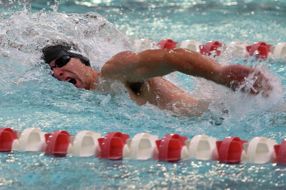 Shenendehowa graduate Piotr Czajkowski of the Saint Rose men's swim team. (Courtesy of Saint Rose)