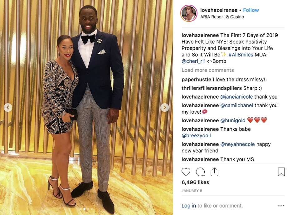 Hazel Renee and Draymond Green have been together since at least early 2018. Warriors coach Steve Kerr said they got engaged over the weekend of Jan. 19, 2019. Photo: Screenshot Via Hazel Renee Instagram