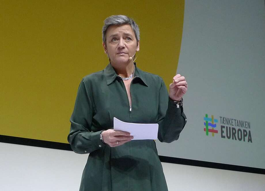 European Union Competition Commissioner Margrethe Vestager has been tough on companies like Google and Apple. Photo: Kelvin Chan / Associated Press