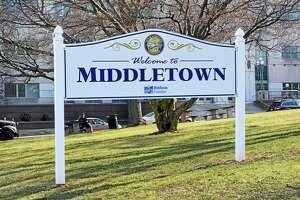 Middletown City Hall deKoven Drive sign.