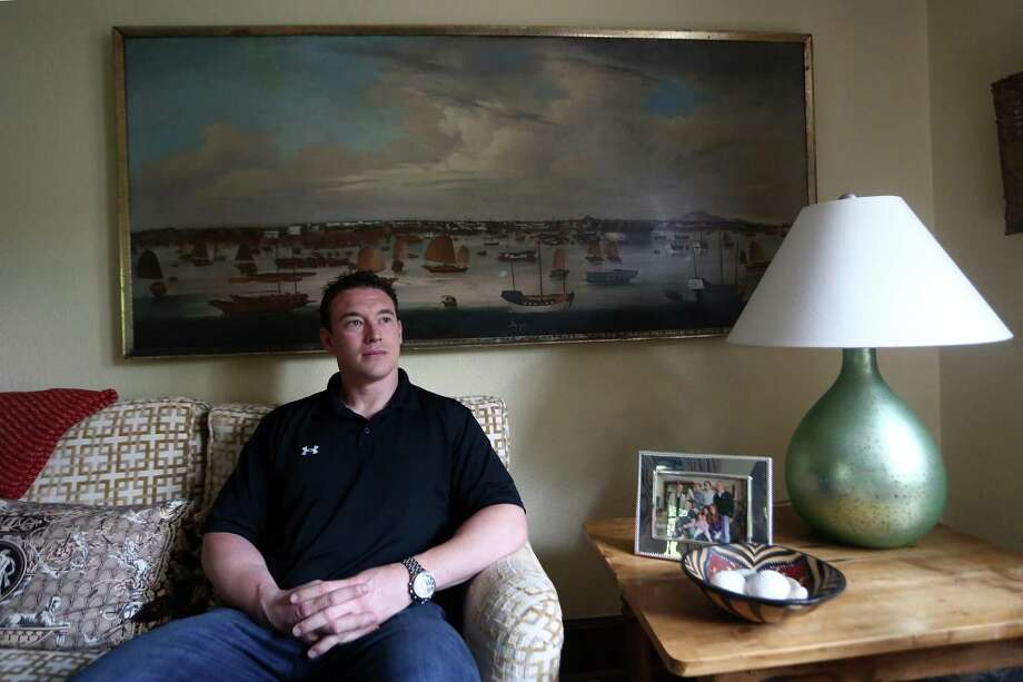 Former Navy SEAL and Greenwich High School graduate Carl Higbie in 2016. Photo: Hearst Connecticut Media / Stamford Advocate