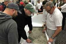 Houston liquefied natural gas company NextDecade held a Jan. 16 open house in Rosenberg to give local landowners a glimpse into plans to build a 97-mile pipeline to support a proposed LNG export terminal in Texas City.