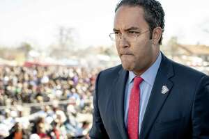 Will Hurd of San Antonio was one of only four GOP congressmen to condemn Donald Trump's remarks.
