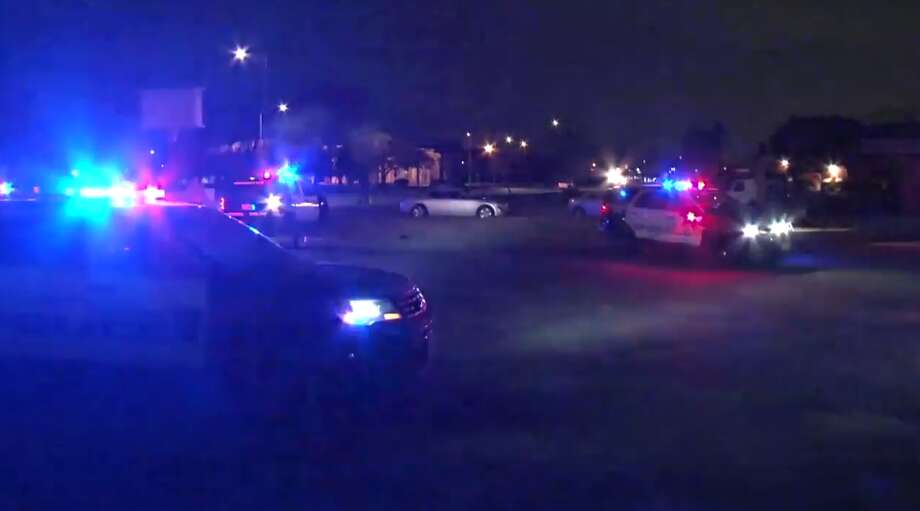 One man was shot in a vacant parking lot near the intersection of Calhoun and Old Spanish Trail after police broke up a noisy block party nearby. Police say they have not identified a suspect. Photo: Metro Video