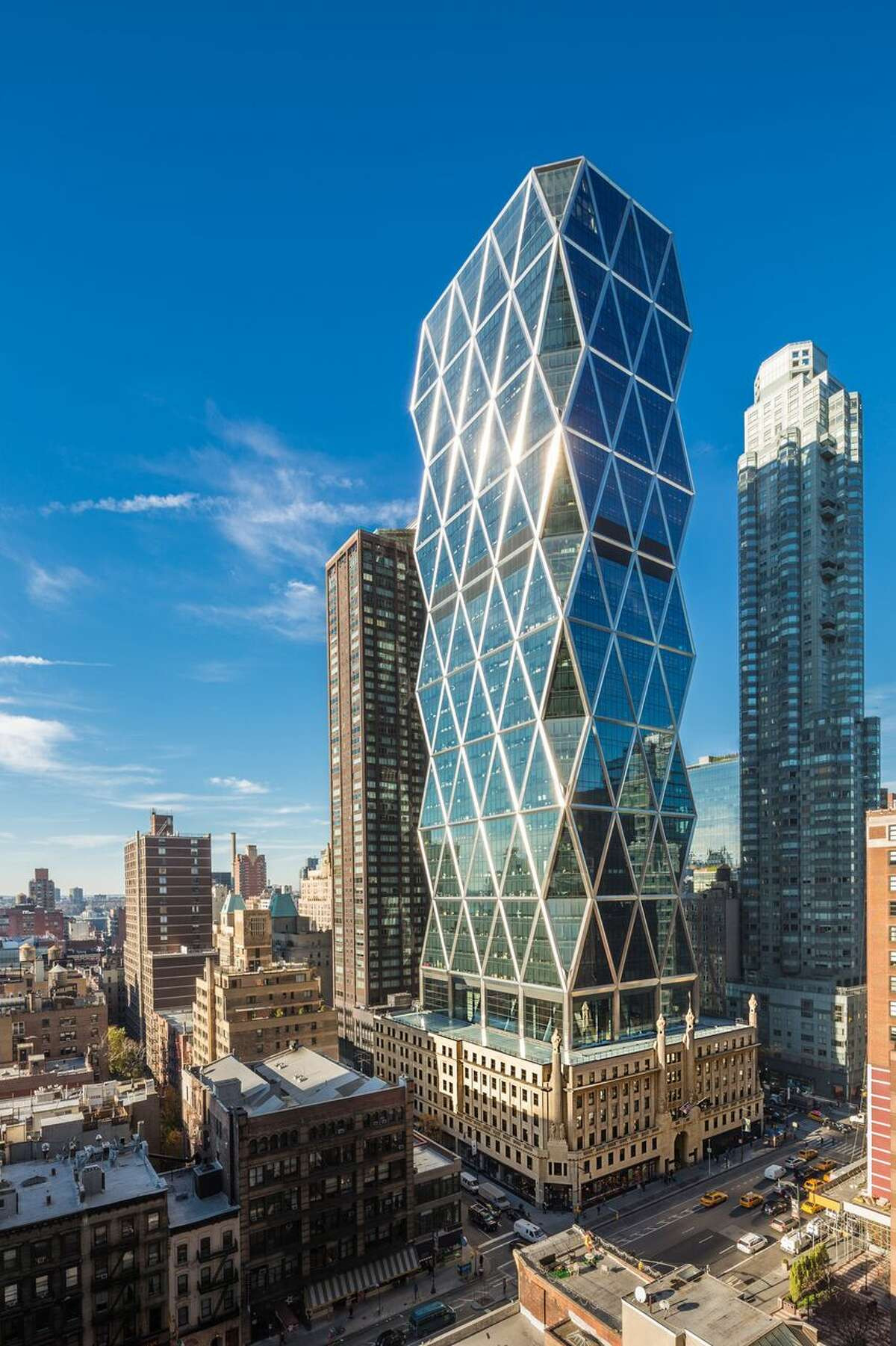 Hearst's corporate headquarters in New York City.