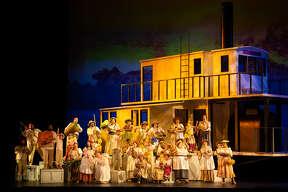 The Houston Grand Opera Chorus in 'Florencia en el Amazonas'