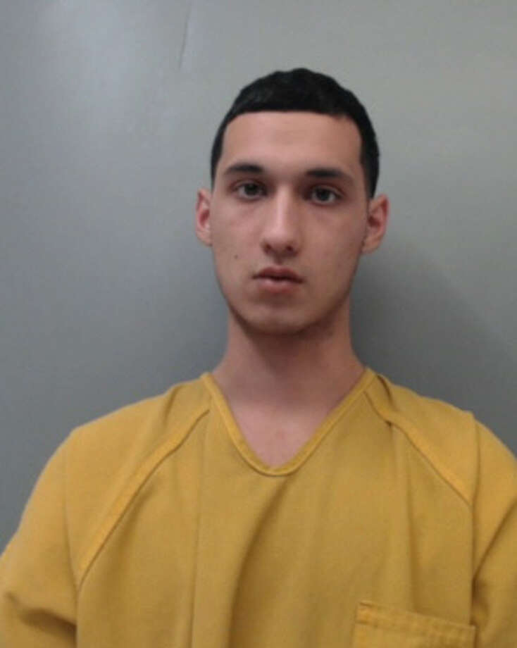 Juan Ramon Garcia, 20, was charged with theft from a person. Photo: Webb County Sheriff's Office