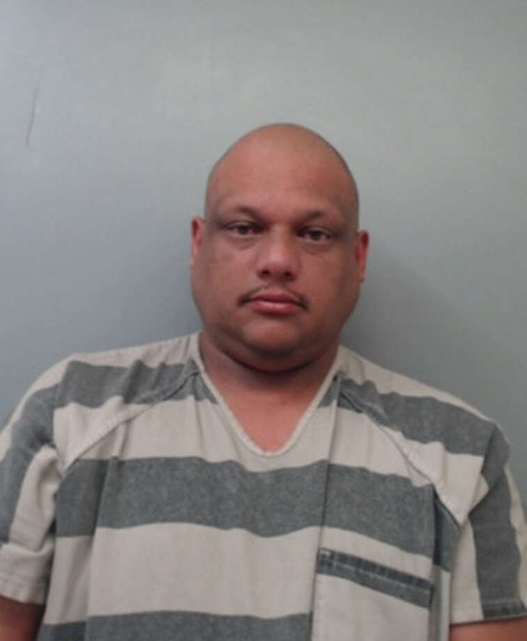 Joel Martinez Santiago-Velazquez, 38, was charged with criminal mischief. Photo: Webb County Sheriff's Office