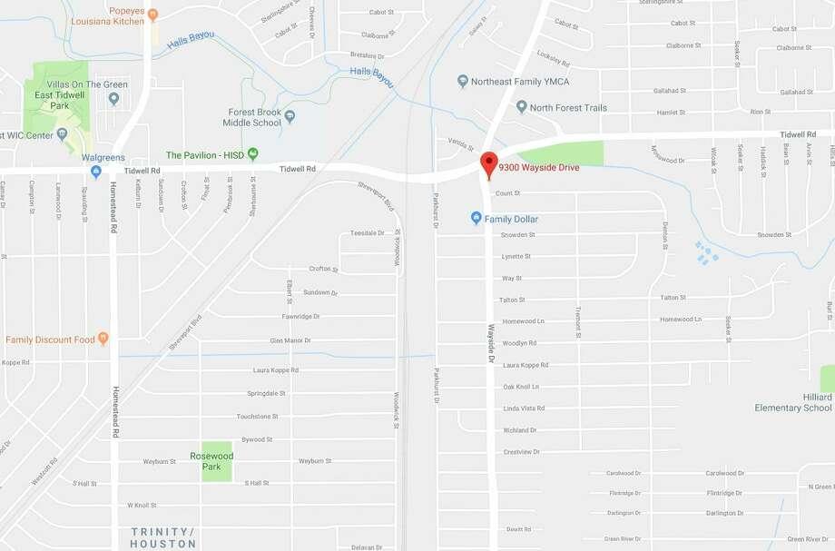A boy died days after an ATV crash on 9300 North Wayside on Friday, Jan. 18, 2019. Photo: Google Maps