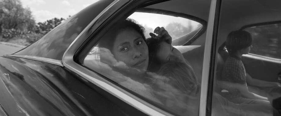 Yalitza Aparicio stars in 'Roma' Photo: Netflix