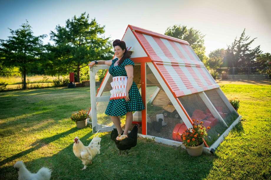 Whatacoop! Fort Worth couple builds their own Whataburger chicken coop