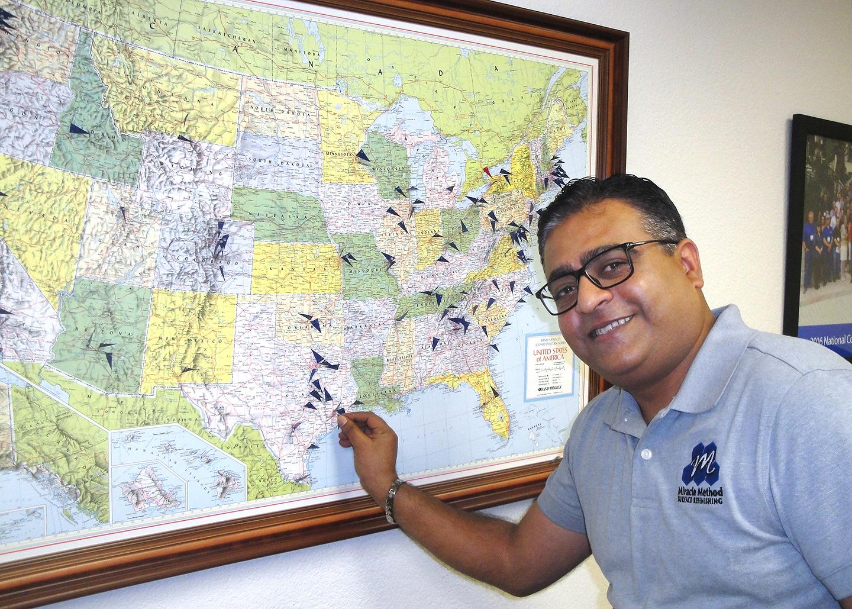 Tile and tub restoration franchise in SW Houston changes hands