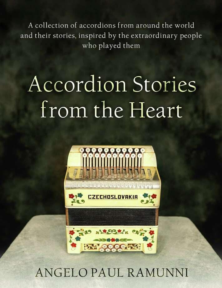 """An """"Accordion Stories from the Heart"""" book signing and mini-concert with author Angelo Paul Ramunni, creator of the New England Accordion Connection & Museum in Canaan, will take place Feb. 16 in Newtown. Photo: Contributed Photo"""
