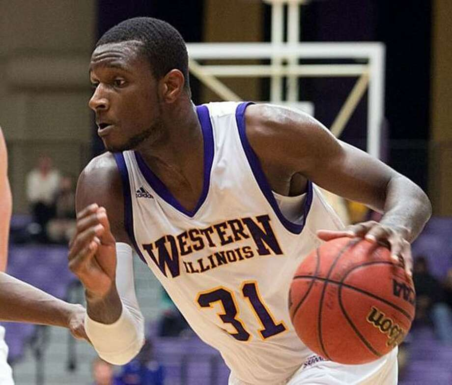 Former Edwardsville standout Garret Covington, shown during his playing days at Western Illinois University, is returning to Spain for his second professional season in the LEB Silver League. He will play for L'Hospitalet after playing last season for Arcos Albacete. Photo: Western Illinois University