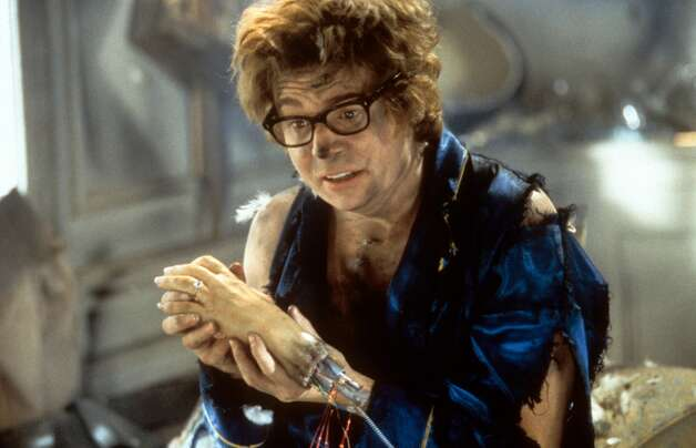 Austin Powers: International Man of Mystery (1997)   Austin Powers: The Spy Who Shagged Me (1999)   Austin Powers in Goldmember (2002) Available on Netflix July 1 Photo: New Line Cinema/Getty Images, Getty