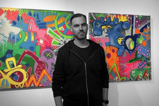 "John Paul O'Grodnick is one of the artists exhibiting his work in ""Make Your Mark."""