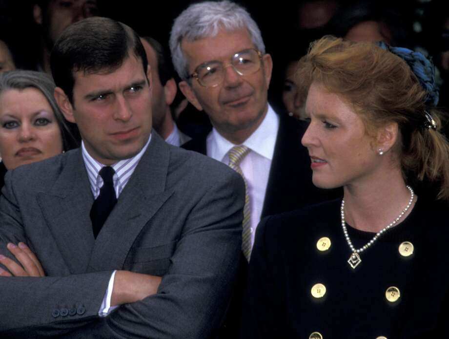 Prince Andrew, Duke of York and Sarah Ferguson, Duchess of York attend World Wildlife Fund Benefit on September 19, 1987 at the Greenwich Polo Club in Greenwich, Connecticut. (Photo by Ron Galella, Ltd./WireImage) Photo: Ron Galella/WireImage