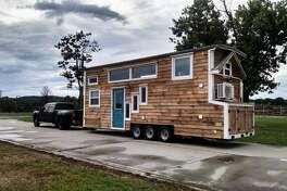 Jennifer's tiny house on wheels.
