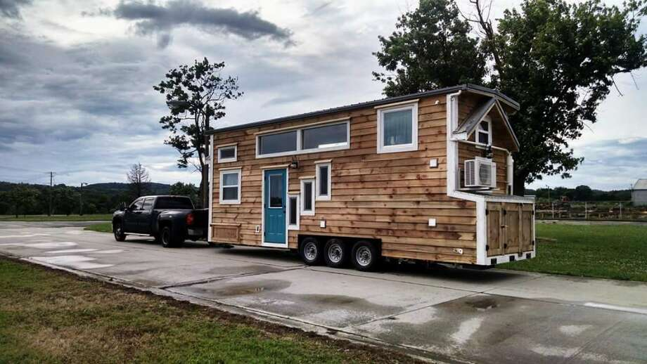 Hoarder gets rid of stuff to move into a tiny home