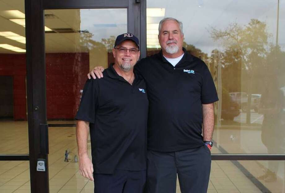 Ken Grey, left, and Tim Bauer are the owners of the SwimLabs Swim School in The Woodlands that opened toward the end of last summer. Photo: Submitted Photo