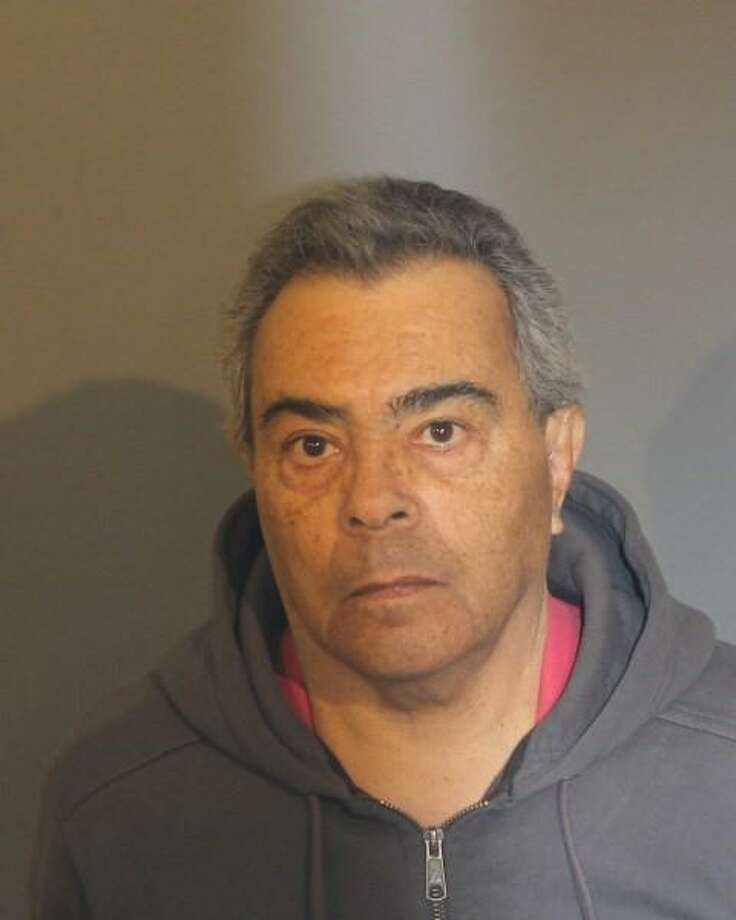 Angel Luis Guevares, 71, of Danbury, was arrested by Danbury Police on Monday night after leading New York State Troopers on a pursuit across the state line and along Mill Plain Road in Danbury. Photo: Submitted Photo / Danbury Police Department