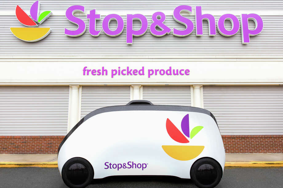 Robomart announced a new partnership with grocery store chain Stop & Shop and plans to begin operations in the Greater Boston area this spring. Photo: Courtesy Of Robomart. / The Washington Post