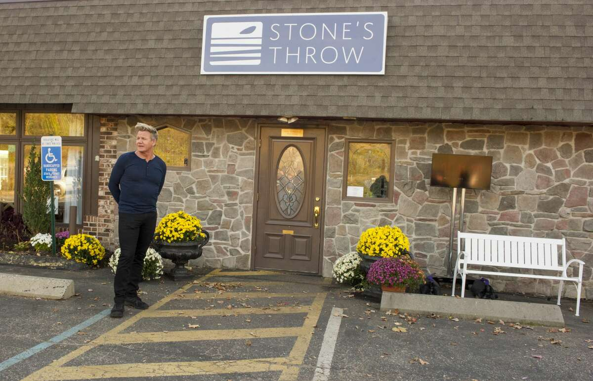 Chef / host Gordon Ramsay at Stone's Throw in Seymour, CT filming an episode of 24 Hours to Hell and Back airing Wednesday, Jan. 30 (8:00-9:00 PM ET/PT) on FOX.