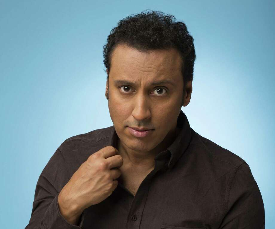 """Actor and comedian Aasif Mandvi is best known for his work on """"The Daily Show."""" Photo: Courtesy Photo / Copyright 2012 Adam Cantor www.adamcantor.net"""